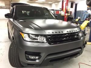 Range Rover Sport Xpel Matte Wrap 1