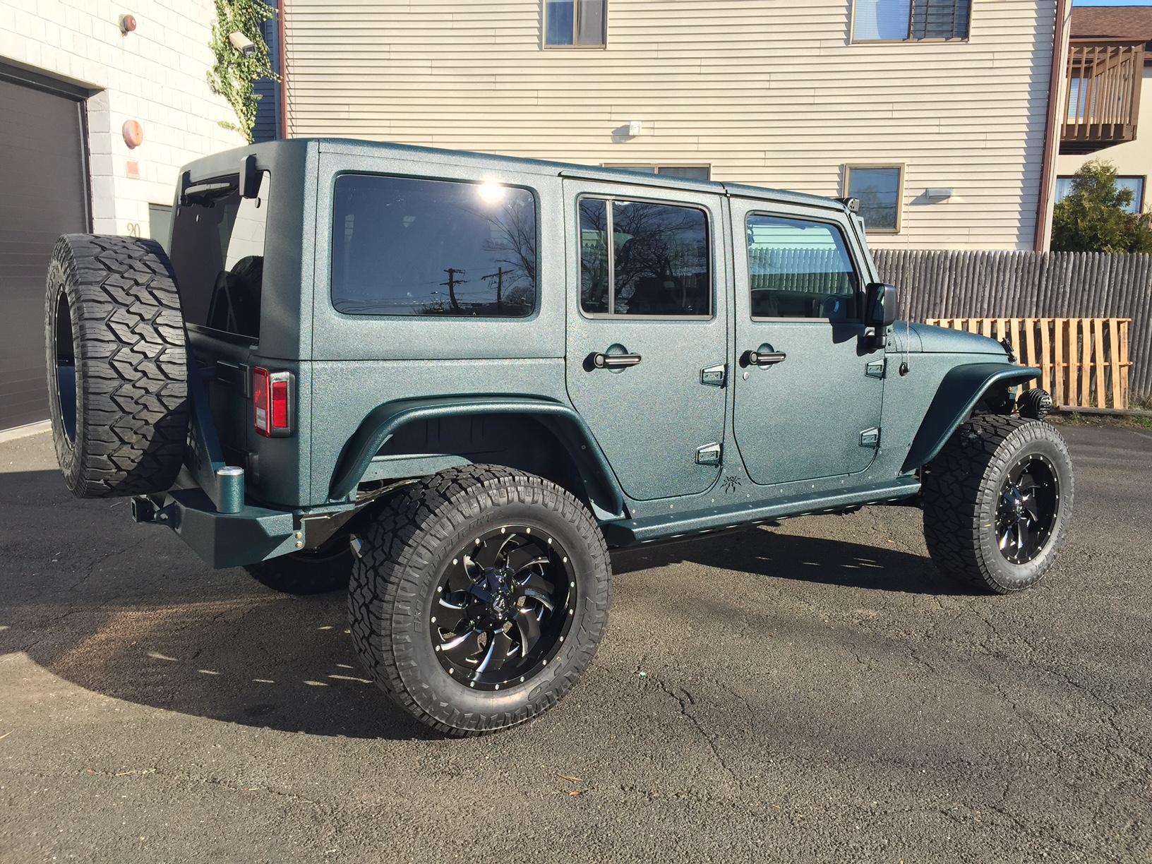 Customized 2 door jeep wranglers