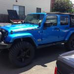 Jeep Wrangler Blue 1