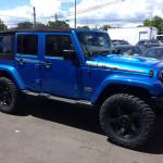Jeep Wrangler Blue 2