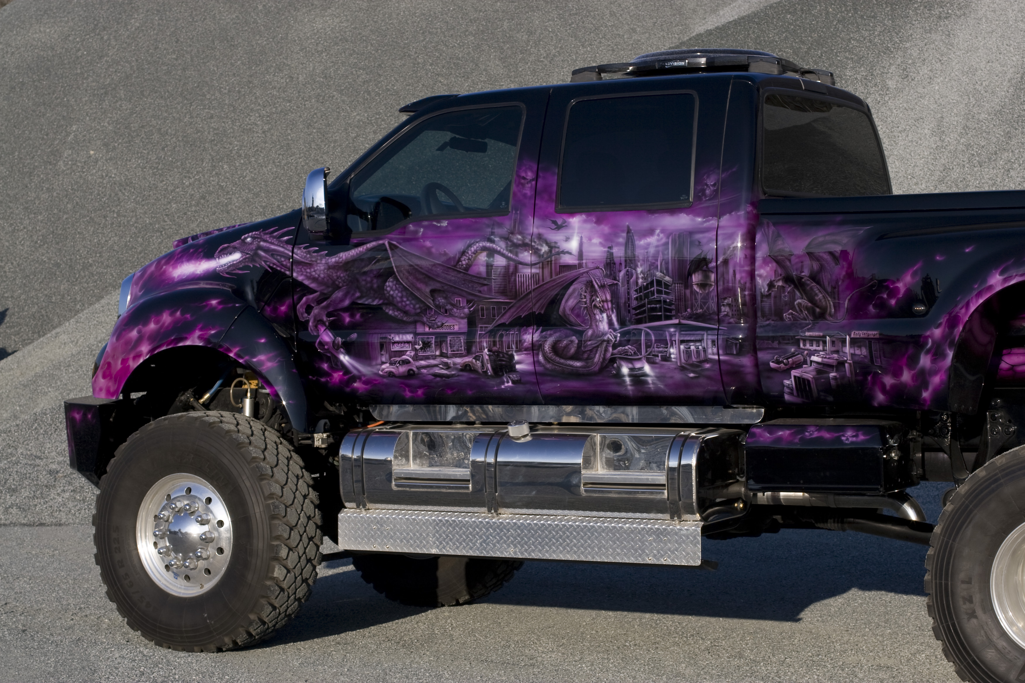 Exterior interior afterfx customs for Car paint designs pictures